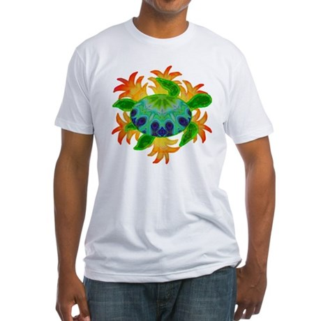 Flame Turtle Fitted T-Shirt