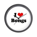 I love bongs Wall Clock