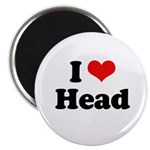 I love head Magnet