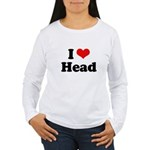 I love head Women's Long Sleeve T-Shirt