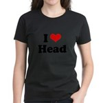 I love head Women's Dark T-Shirt