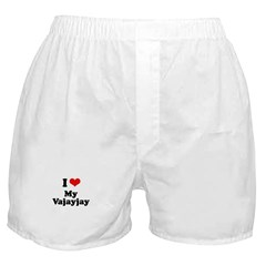 I love my vajayjay Boxer Shorts