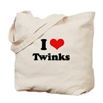 I love twinks Tote Bag