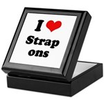 I love strap ons Keepsake Box