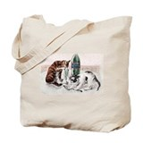 Absinthe Cats Tote Bag