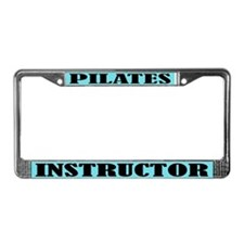 Pilates Instructor License Plate Frame