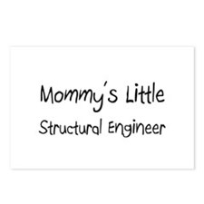 Mommy's Little Structural Engineer Postcards (Pack