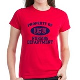 Property of ICU Nursing Department Tee