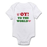 Oy to the world! Onesie