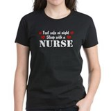 Feel Safe Sleep with a Nurse Tee