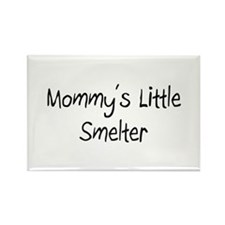 Mommy's Little Smelter Rectangle Magnet