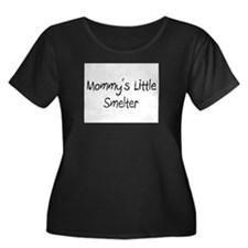 Mommy's Little Smelter Women's Plus Size Scoop Nec