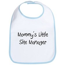 Mommy's Little Site Manager Bib