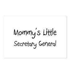 Mommy's Little Secretary General Postcards (Packag