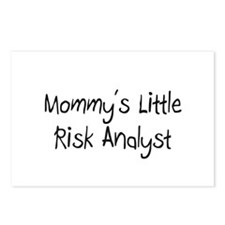 Mommy's Little Risk Analyst Postcards (Package of