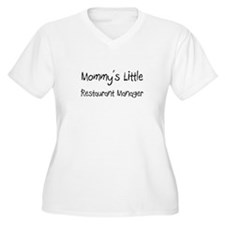 Mommy's Little Restaurant Manager T-Shirt