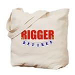 Retired Rigger Tote Bag