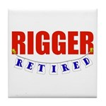Retired Rigger Tile Coaster