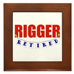 Retired Rigger Framed Tile