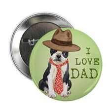 "Boston Dad 2.25"" Button"