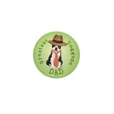 Boston Dad Mini Button