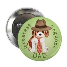"Cavalier Dad 2.25"" Button"