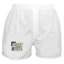 I Wear Pearl For My Wife 6 Boxer Shorts