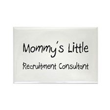Mommy's Little Recruitment Consultant Rectangle Ma