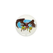 Vulture Attack Mini Button
