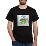 Scrapbookers - Make Days Beau Dark T-Shirt