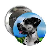 Harlequin Great Dane Dog Button