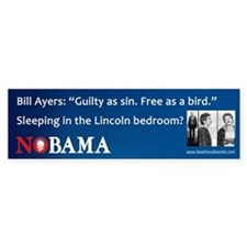Obama-Bill Ayers Bumper Bumper Sticker