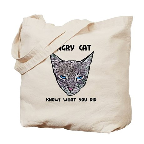 Knows What You Did Tote Bag