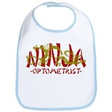 Dragon Ninja Optometrist Bib