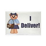 Mail Carrier Rectangle Magnet (10 pack)