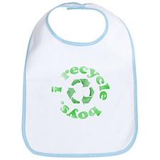 I Recycle Boys Bib
