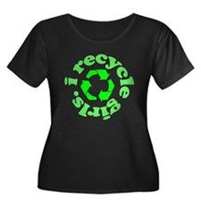 I Recycle Girls T
