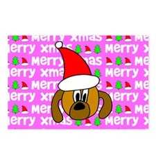 Christmas Dog Postcards (Package of 8)