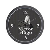 Victor Hugo Wall Clock
