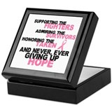 Fighters Survivors Taken 3 Pink Keepsake Box