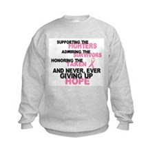 Fighters Survivors Taken 3 Pink Sweatshirt