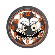 Lean Mean Soccer Machine Wall Clock