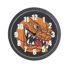 Lean Mean Basketball Machine Wall Clock