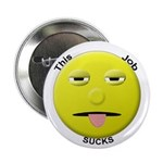 Sad Working Stiff Smiley Button