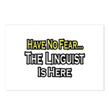 """Have No Fear...Linguist"" Postcards (Package of 8)"