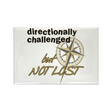 Directionally Challenged Rectangle Magnet