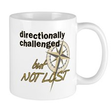 Directionally Challenged Mug