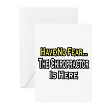 """Have No Fear: Chiropractor"" Greeting Cards (Pk of"