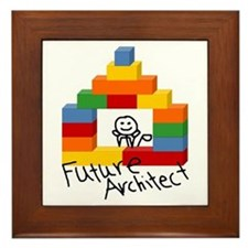 Future Architect Framed Tile