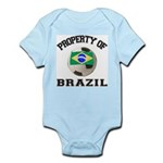 Brazil Soccer Infant Creeper